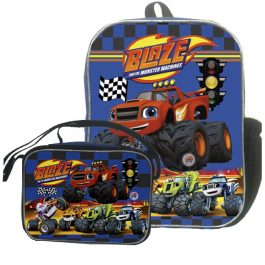 Morral Didáctico+Lonchera | Blaze and The Monster Machines